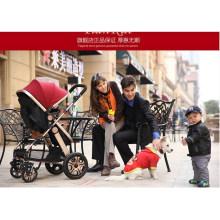 360 Degree Rotating Wheels Baby Stroller