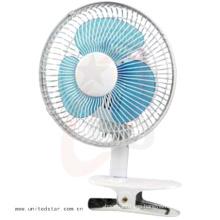 6′′ Clip Mini eléctrico ventilador