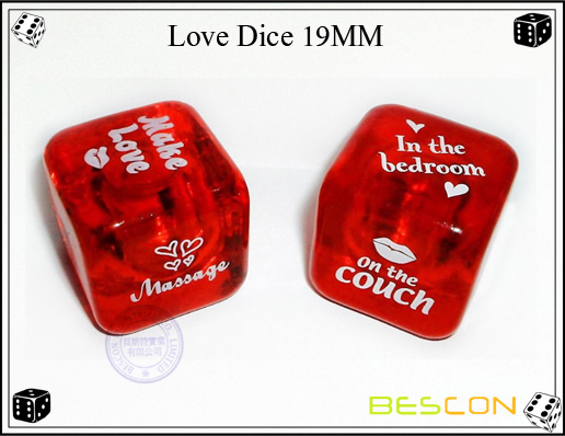 Love Dice 19MM