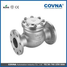 ANSI Aço Inoxidável 304 Válvula de Retenção com tipo de flange