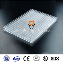 UV coated Polycarbonate sheet greenhouse uv treated plastic greenhouse