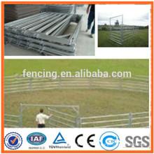Panel de madera de la granja de acero galvanizado durable / paneles y puertas del ganado del ganado para la venta