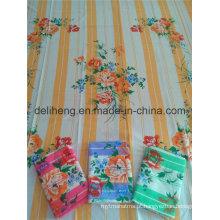 Cheap Preço 100% Microfibra Poliéster impressa folha de cama