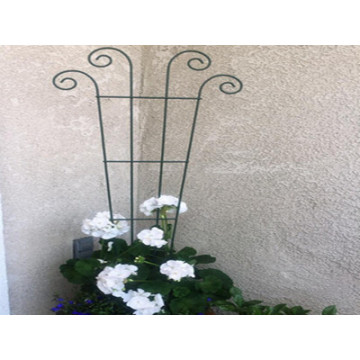 48 inch Wave Pot Trellis