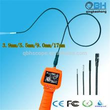 Endoscopio de inspección automotriz portátil de la prenda impermeable de 2.4 pulgadas TFT LCD