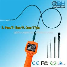 Endoscópio de inspeção automotivo portátil impermeável TFT LCD de 2,4 polegadas
