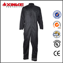 winter water resistant coverall with fire retardant finish