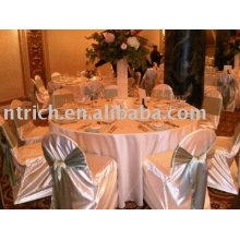 Cubierta de la silla del satén, cubierta de la silla del hotel / del banquete