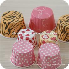 Cupcake de papel à prova de gordura, copos de papel para muffin