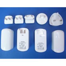 UE EUA UK Au Plug Intercambiável Muliti Plug Elétrico USB Power Adapter