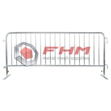 Glavanized Heavy Duty Interlocking Steel Barricade