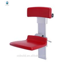 17T808 parede de banheiro montada para dobrar assento de chuveiro desabilitado assento de lavagem