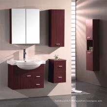 Vanité de salle de bain en mélamine avec bonne qualité (SW-PB182)
