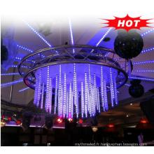 bar et boîte de nuit décoration 64leds / 32pixels / M tubes de lumière adressables 360 degrés dmx 3d tube vertical