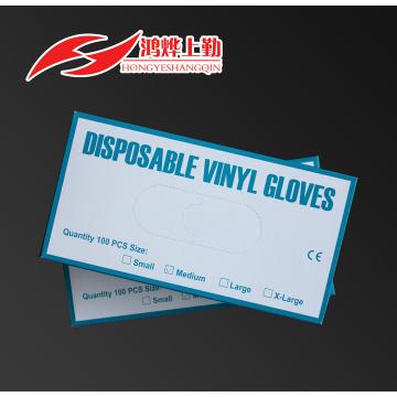 Vinyl Prüfung Industriehandschuh