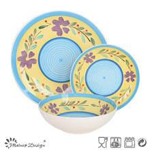 Sistema de cena pintado a mano de cerámica de alta calidad de 18PCS 2016