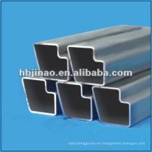 Tubo de acero sin costura / piezas especiales de la sección hueca