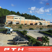 Pth Prefab Customized Design Steel Structure Warehouse