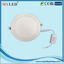 15w recesso luz do painel rodada CE RoHS aprovado luz LED slim