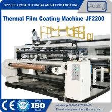 Machine de revêtement par extrusion de film thermique Eva Coated Bopp