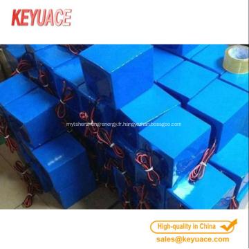 Gaine thermorétractable pour batterie cylindrique