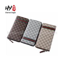 Alta qualidade várias cores atacado carteiras personalizadas