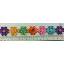 Six color water soluble plum flower embroidery lace