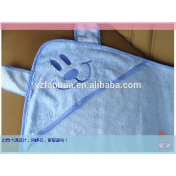 flanela e algodão super macio, cobertor de pele amigável bebê cobertor do bebê