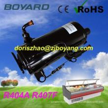 Frigorífica R407F R404A CE ROHS a pie en compresor del congelador de refrigerador comercial de refrigeración de carro