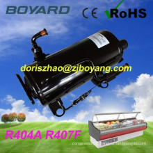 CE ROHS R407F R404A small cold room refrigeration mini freezer compressor 1 hp for vegetable display refrigerator