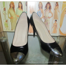 2016 moda de salto alto apontou toe sapatos de vestido (hcy002-1096)