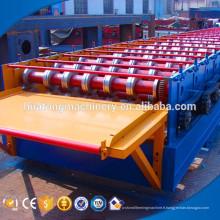 Feuille en acier adaptée aux besoins du client de plate-forme de plancher en métal d'épaisseur formant la machine