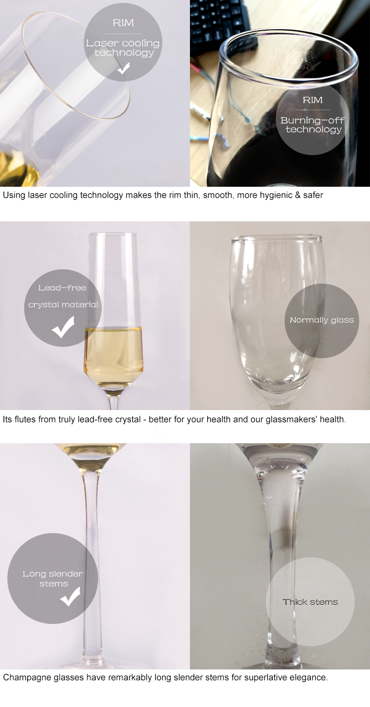 glass champagne