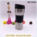 Tasse de voyage à vide en acier inoxydable de 450 ml (SH-SC01)