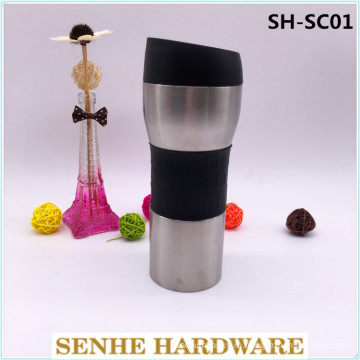 Вакуумная кружка для путешествий из нержавеющей стали объемом 450 мл (SH-SC01)