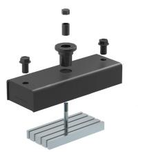 NSM-1600 Aimants de coffrage préfabriqués pour ossature en béton