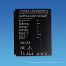Controlador impermeável do gerador de turbina eólica para fora do sistema de grade