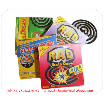 Brand Name Micro-Smoke Smokeless Mosquito Coil Incense