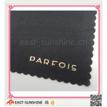 Hot Stamped Logo on Microfiber Cleaning Cloth, Glasses Cleaning Cloth