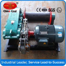 Treuil de vitesse lente de Jm2 pour la mine en métal avec la certification de Ce