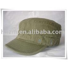 leisure military flat men's cap