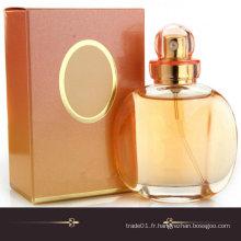 Bouteille de parfum cristalline en cristal de haute qualité