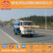 DONGFENG small tank 4X2 5 cbm 95hp rubbish garbage truck new style hot selling in China