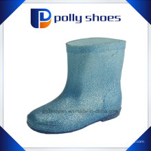 Kinder Regen Schuhe PVC Transparente Regen Stiefel