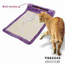 Wicker Cat Bed, Cat Toy Scratcher (YS82242)