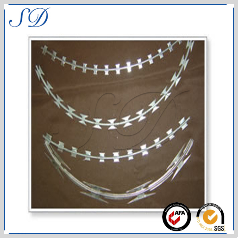 hot dipped razor barbed wire for sale