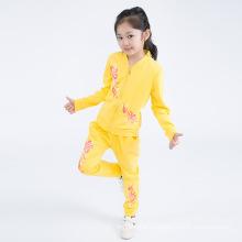 Повседневная оптовая Детская одежда девушки костюм для весна осень