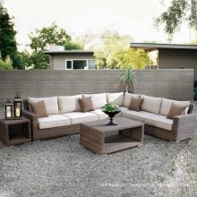Patio Garden Wicker Outdoor Furniture Rattan Sofa Lounge Set