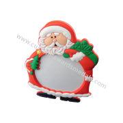 3d Customized Santa Soft Pvc Photo Frame, Family Photo Frames