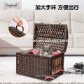High quality and convience wicker pet cages cheap cat cages cat show cages